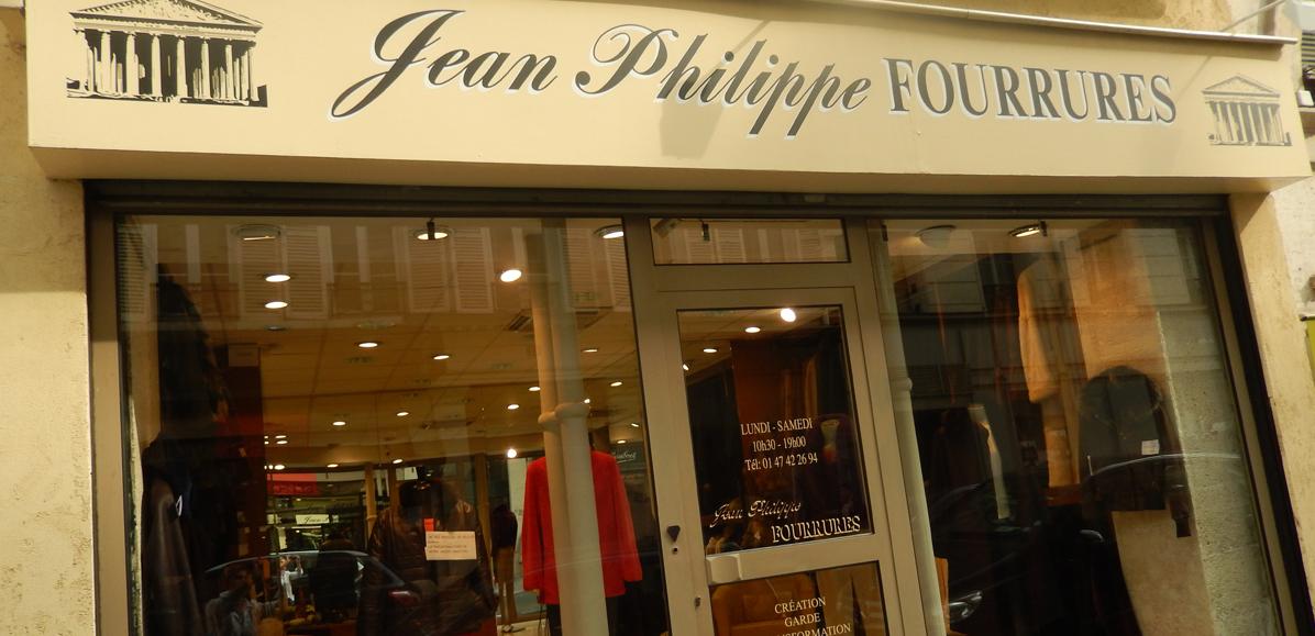 Devanture Jean-Philippe Fourrures